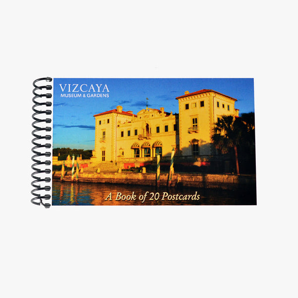 Vizcaya Postcard Book