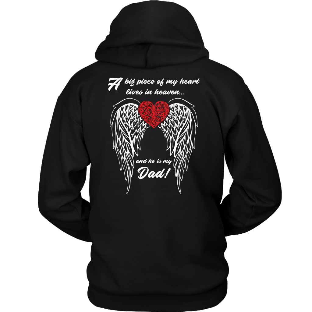 In Loving Memory Hoodie A Big Piece Of My Heart Lives In Heaven
