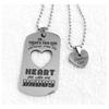 Daddy's Girl Necklace Set Stainless Steel
