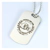 Father And Son Best Friends Dog Tag