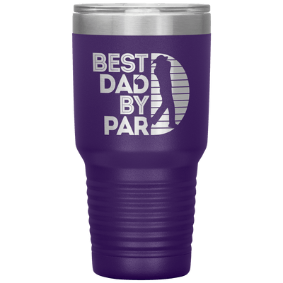 Best Dad By Par Tumbler