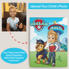 Personalized Paw Patrol Portrait Wall Art Canvas Poster