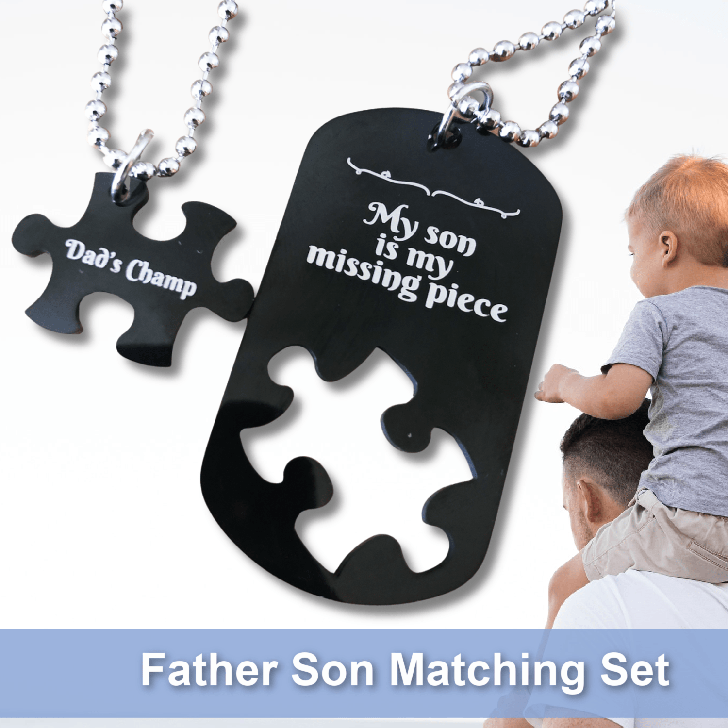 My Son Is My Missing Piece Matching Set