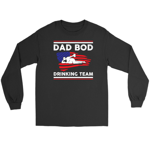 Dad Bod Drinking Team Shirt Dad Bod Apparel