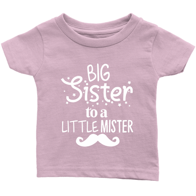Big Sister To A Little Mister T Shirt