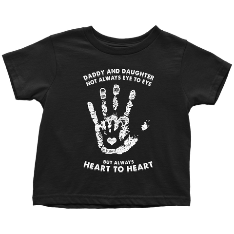 Daddy Daughter Always Heart To Heart Kids Sizes