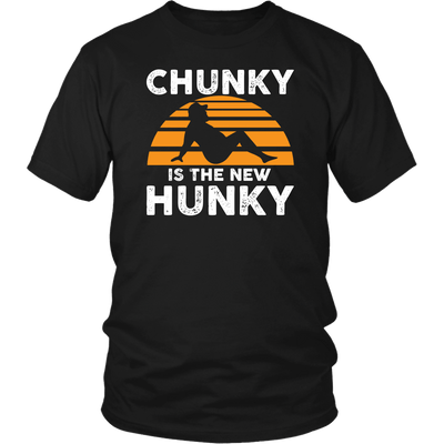 Dad Bod Shirt Chunky Is The New Hunky