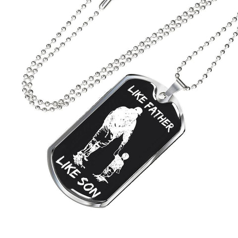 Personalized Dog Tags For Son | To My Son Dog Tag