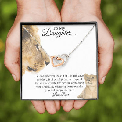 Stepdaughter Necklace I Bonus Daughter Gifts Necklace | Unbiological Daughter Gift | Step Daughter Gift