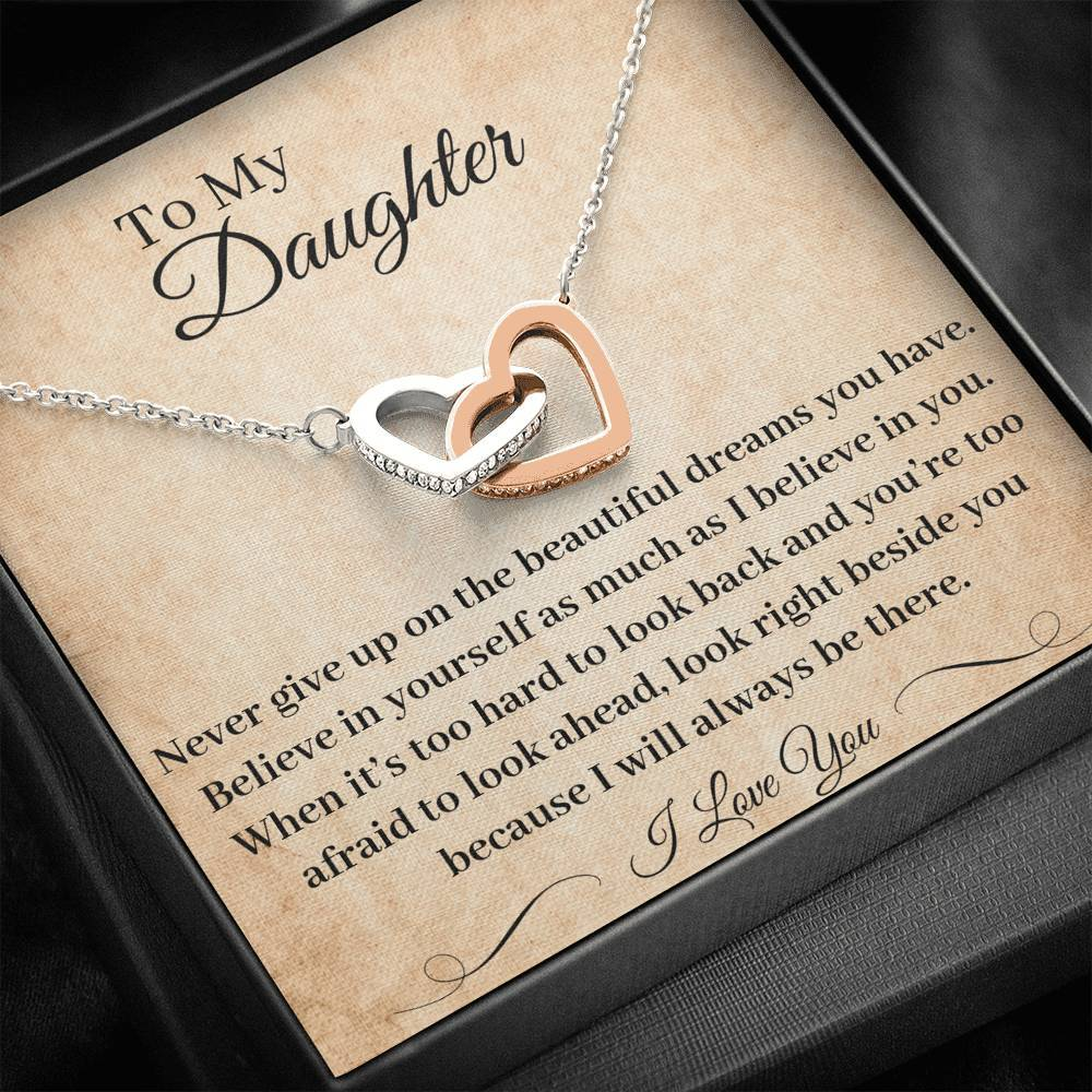 Father Daughter Necklace I Will Always Be There