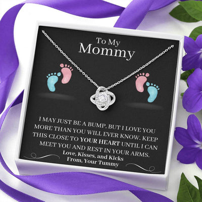 New Mom Necklace I Love You More Than You Will Ever Know