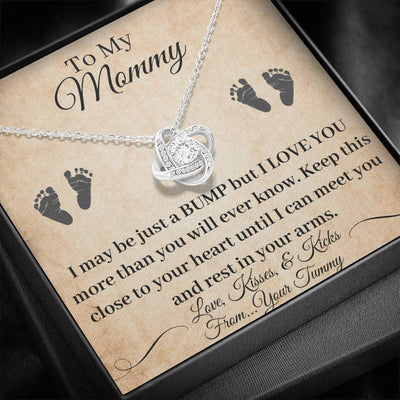 Pregnancy Necklace New Mom Gift Jewelry Baby Bump