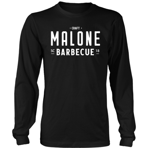 Malone Barbecue Black Shirt