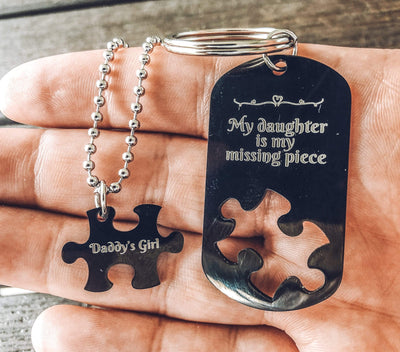 My Daughter Is My Missing Piece Matching Set