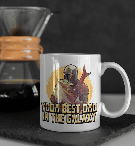 Yoda Best Dad Ever In The Galaxy Coffee Mug