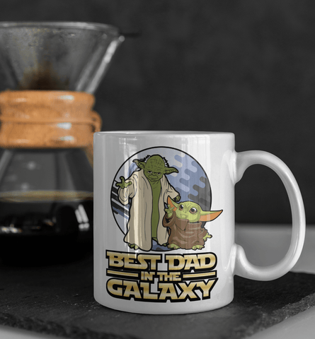 Yoda Best Dad In The Galaxy Coffee Mug