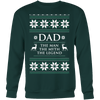 Image of Dad The Man The Myth The Legend Ugly Sweater