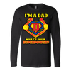 Image of I'm A Dad Whats Your Superpower Shirt