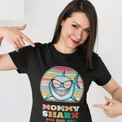 Mommy Shark Apparel