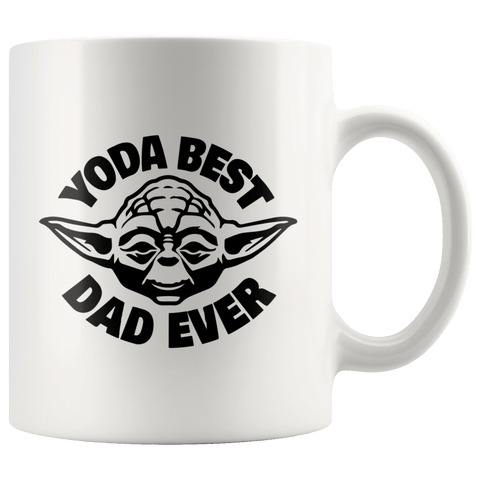 Yoda Best Dad Ever Coffee Mug 2