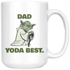 Yoda Best Dad Coffee Mug
