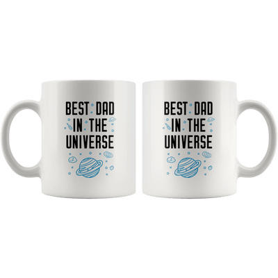 Best Dad In The Universe Coffee Mug