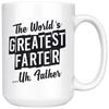 Worlds Greatest Farter Coffee Mug For Dad