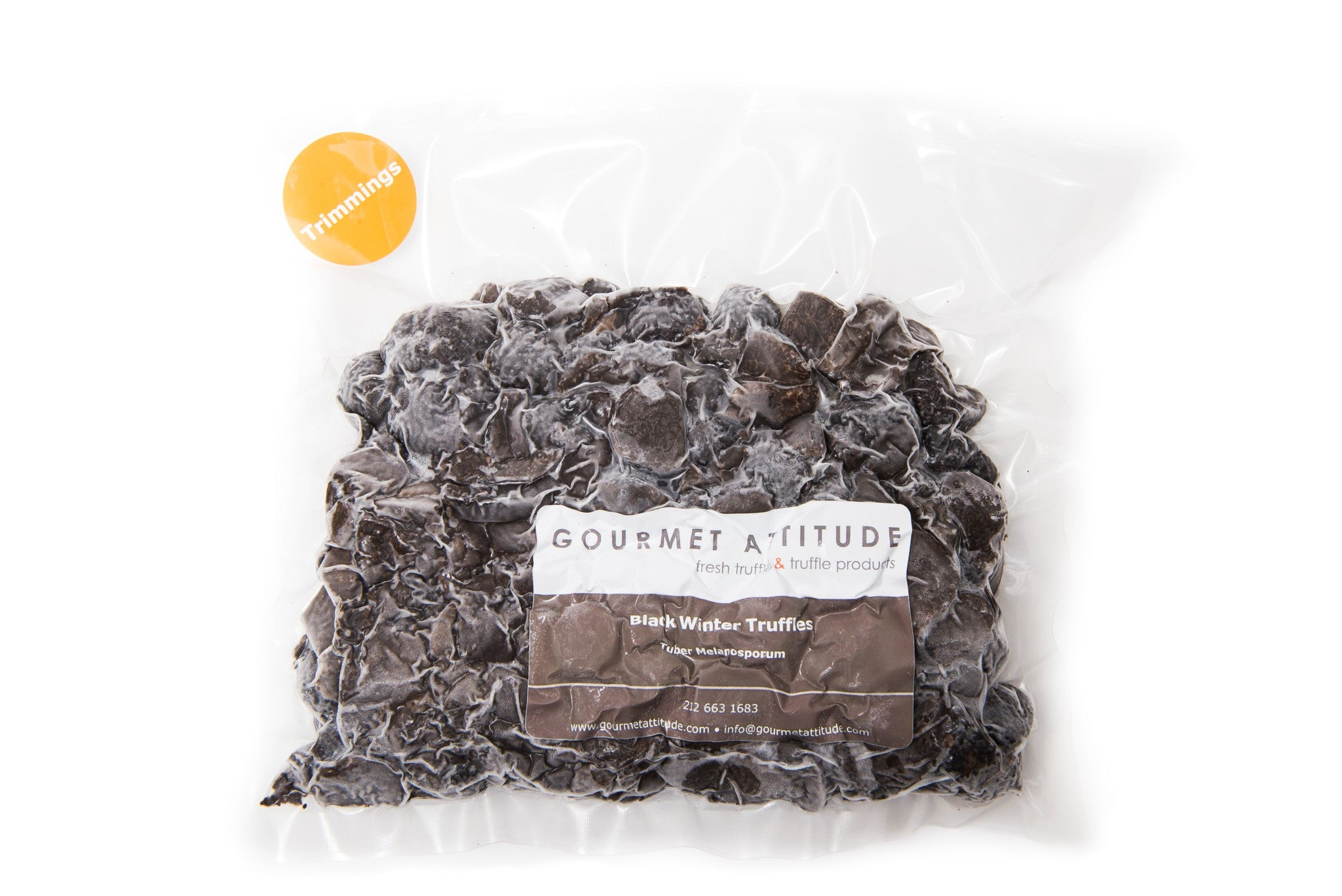 Frozen Black Winter Truffle Trimmings - Tuber Melanosporum Vittadini