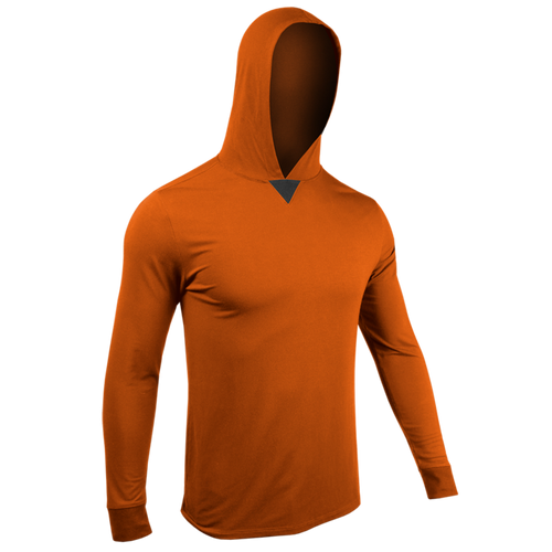2UNDR - Long Sleeve Hooded T-shirt - Guys and Co. (5978480640152)