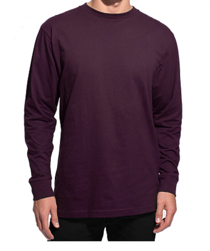 GUYS & CO. - Men's Long Sleeve Crew Neck T-Shirt (6080587792536)
