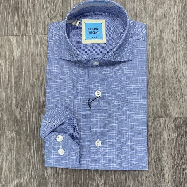 LUCHIANO VISCONTI - Boy's Dress Shirt 4200 - Guys and Co.