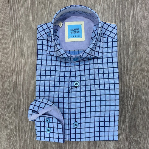 LUCHIANO VISCONTI - Boy's Dress Shirt 4214 - Guys and Co.
