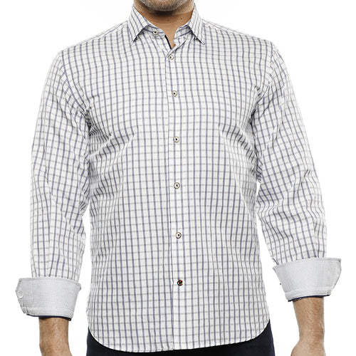 LUCHIANO VISCONTI - Men's Dress Shirt 4232 - Guys and Co.