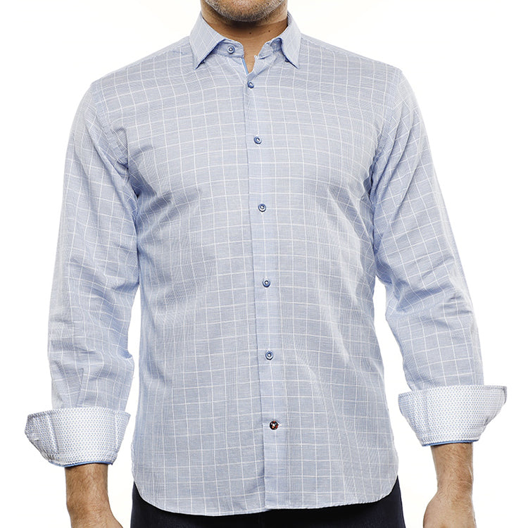 LUCHIANO VISCONTI - Men's Dress Shirt 4234 - Guys and Co.