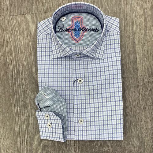LUCHIANO VISCONTI -Boy's Dress Shirt 4235 - Guys and Co.