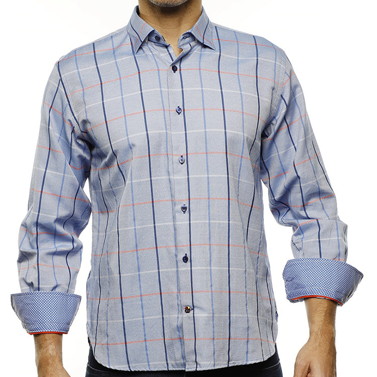 LUCHIANO VISCONTI - Men's Dress Shirt 4241 - Guys and Co.