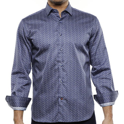 LUCHIANO VISCONTI - Men's Dress Shirt 4247 - Guys and Co.