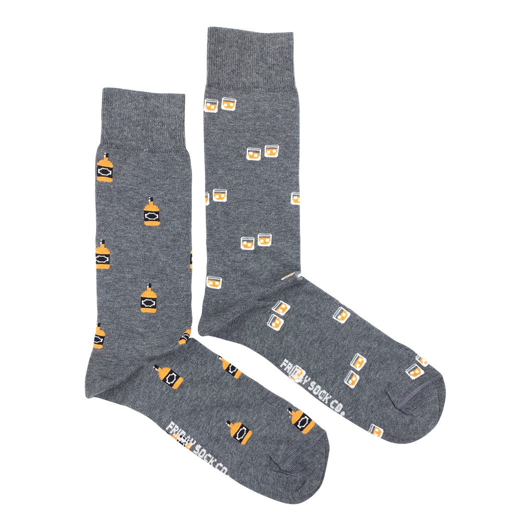 FRIDAY SOCK CO. - Men's Glass & Whiskey Socks