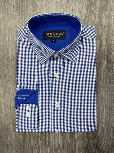 LEO & ZACHARY - Boys Dress Shirt 5726 (6158885257368)