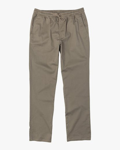 RVCA - Boys Weekend Elastic Straight Fit Pants - Guys and Co. (6029042516120)