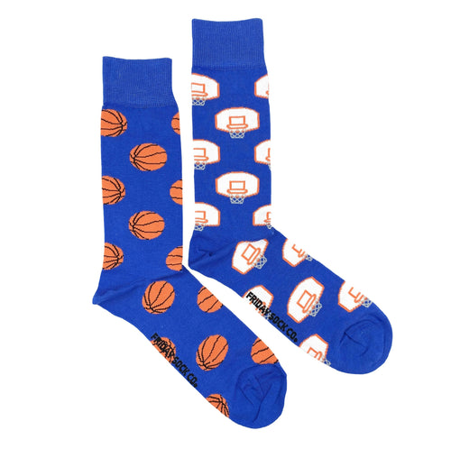 FRIDAY SOCK CO. - Men's Basketball Net & Basketball Socks (6094541979800)