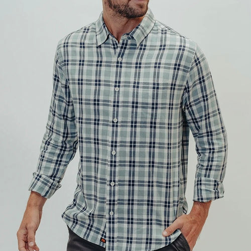 THE NORMAL BRAND - Men's Nikko Button Down Shirt (6183116701848)