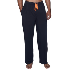 WOOD - Men's Lounge Pant with Draw String - Black (6226515853464)