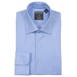 MODENA - Men's Dress Shirt, Blue (6198015557784)