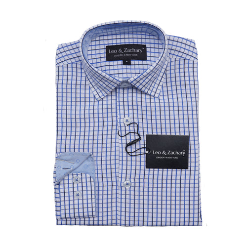 LEO & ZACHARY - Boy's Dress Shirt 5769 - Guys and Co.
