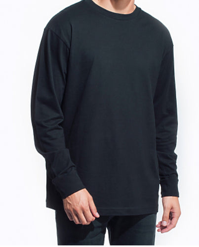 GUYS & CO. - Men's Long Sleeve Crew Neck T-Shirt (6080587727000)