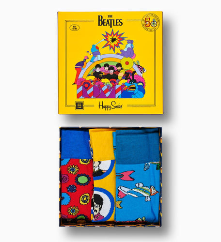 HAPPY SOCKS - The Beatles Socks Box Set 3-pack (6094621311128)