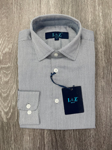 LEO & ZACHARY - Boy's Dress Shirt 5743 (6158881095832)