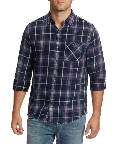 FLAG & ANTHEM - Livonia Vintage Washed Shirt - Guys and Co. (5781290123416)