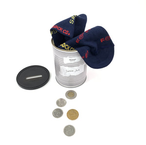 FRIDAY SOCK CO. - Men's Swear Jar Socks Can (6034369544344)